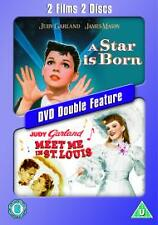 A Star Is Born / Meet Me In St Louis DVD R2 - UK - BRAND NEW / FREE P&P