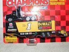 1997 Racing Champions Racing Team Transporter Dewalt Tractor, Trailer/micro car