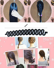 Fashion Girl Hair Styling Clip Stick Bun Maker Braid Party Tool Accessories #4T6