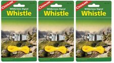 3~NEW Coghlan's Wilderness Signal Safety Whistle Nickel Plated Steel Silver 7735