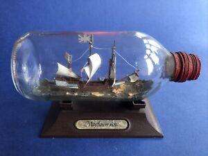 Ship In Bottle Mayflower Airfix Kit Made Fair To Good Please Read