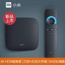 2017新版 Xiaomi Box 3S Mi TV BOX 4K 超清 2GB 8GB Media越狱版1万部欧美大陆港澳台电影电视剧 还有非诚勿扰等综艺节目