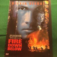 Fire Down Below DVD Steven Seagal Marg Helgenberger Stephen Lang  Free Shipping