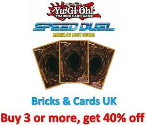 Yu-Gi-Oh! Speed Duel Arena of Lost Souls 1st Edition - Common Cards SBLS