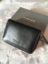Everlane Card Zip Wallet Black New In Box