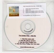 (FU526) The Golden Filter, Hide Me - DJ CD