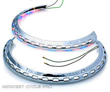 Goldwing GL1500 Tri-Color LED Rotor Cover Light Rings by Add On (45-8134ARBLED)