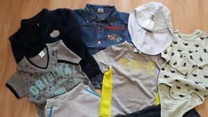 Kleidungspaket für Jungen / 27 Teile / Größe 98 - 110 / Getragen / Guter Zustand