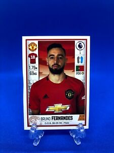 BRUNO FERNANDES (MAN UTD) Panini Premier League 2020 Stickers - Transfer Update