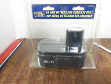 Power Pro Craft 24 Volt Battery Cordless Drill CDD24CB New