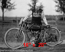 "Harley Davidson~Madwyn Jones~Motorcycle~Racing~Photo~Poster~16"" x 20"""