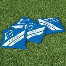 EastPoint 4x Replacement Cornhole Blue Bean Bags Toss Official Size w/Carry Case