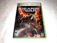 Gears of War (Microsoft Xbox 360, 2006) Game Complete Excellent