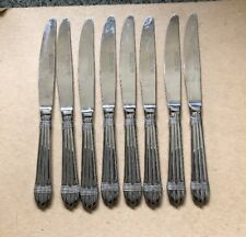 Hampton Silversmiths ODYSSEY STAINLESS Dinner Knives - Set of 8