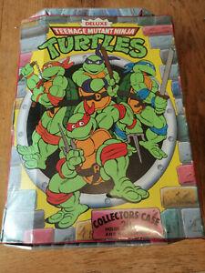 Vintage TMNT Teenage Mutant Ninja Turtles Action Figure Collector Case Rare