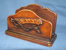 Small golf clubs, bag letter rack / holder