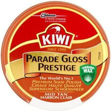 Kiwi Parade Gloss Mid Tan Premium Shoe Polish With Carnauba Wax 50ml Fast Post