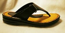 Minnetonka adjustable Ultra Smooth Leather Thong Sandal -Reg $50 Sale $44.99 NEW