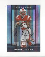 2008 Elite #162 Harry Douglas RC Rookie AUTOGRAPH Falcons Louisville /299