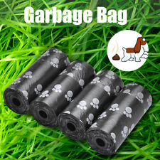 10X Pet Dog Puppy Cat Poo Poop Waste Disposable Clean Pick Up Plastic Bags