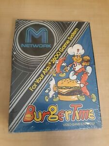 New, Sealed Burgertime Atari 2600 Burger Time NIB Rare! Free Shipping M Network