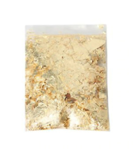 Gold Flakes (Imitation gold leaf) 3g bag - Perfect for crafts/resin
