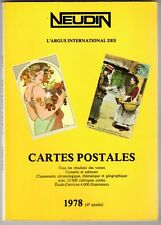 Catalogue Neudin 1978, l'argus international des cartes postales