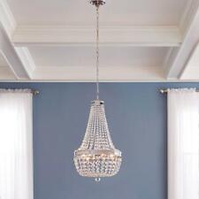 Home Decorators Monticello Park 6-Light Chrome Crystal Chandelier