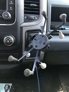 """RAM/Dodge Truck """"Cubby"""" Dash Mount for iPad mini, Other Small Tablets"""