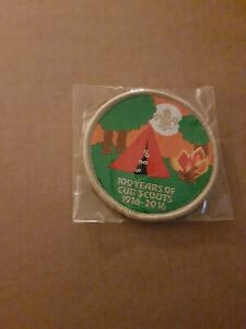 100 Years Of  Cub Scouts 1916_2016 Scout Badge