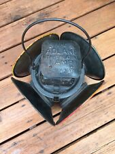Antique Adlake Non Sweating Railroad Switch Lantern Chicago