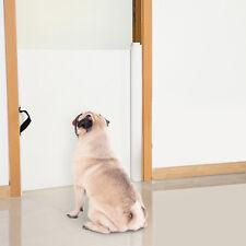 PawHut Hunde Türschutzgitter Treppenschutzgitter Treppenschutz Türschutz Rollo