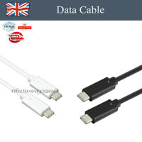 USB 3.1 Sync Data Cable Lead Type-C to Type-C FAST For HUAWEI Samsung Macbook r