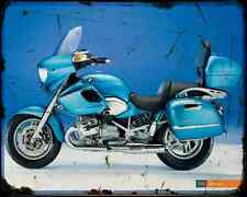 Bmw R1200 Cl 7 A4 Photo Print Motorbike Vintage Aged
