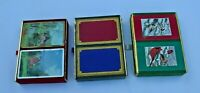 Lot of 3 Double Packs 6 decks of Vintage Congress Playing cards