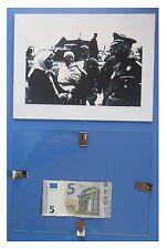 HIMMLER agosto 1941 Ucraina Germania Nazismo Fascismo quadro cornice vetro 24x18
