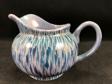 Nippon Small Pitcher Creamer - Blue - Hand Painted - Made in Japan