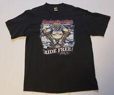 Vtg Euc Harley Davidson T Shirt Mens size Xl single stitch Ride Free