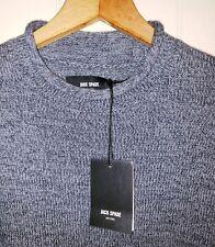 Jack Spade Cashmere Cotton Rollneck Knit Sweater Mens XL NWT $178.00 Grey
