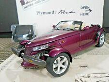 Danbury Mint 1:24 1997 Plymouth Prowler Purple W/ Papers!