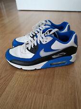 Nike Air Max Weiß/Blau/Schwar Junge Sneaker Turnschuhe Gr. 38