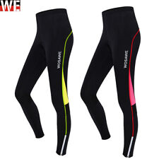 Ladies Cycling Tights Gel Padded Breathable Sportswear Bike Anti Bac Trousers