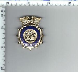 Police Surgeon's Novelty Pin