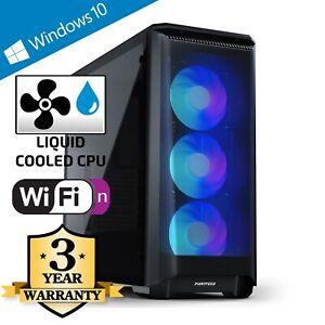CCL Z370 Gaming PC - Watercooled 4.8GHz Intel i5 10600KF, 8GB, SSD, 8GB RTX 3070