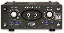 Avalon Design U5 Single-Channel Instrument DI Preamp Black NEW