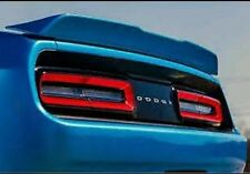 550 Primered FACTORY STYLE HELLCAT SPOILER fits the 2009 - 2017 DODGE CHALLENGER