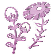 Spellbinders in 'spire Flower Power 1 Die Set-IN-020 - Cut gaufrer Stencil