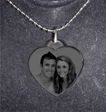 Personalized Heart Necklace (adjustable) - SHIP NEXT DAY- Gift
