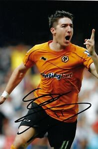 Stephen Ward Wolves Football Club Genuine Hand Signed Photo autograph with COA