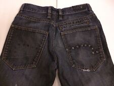 EDC Esprit Eagle Fit Herren DK Wash Denim Jeans Button Fly Straight Leg Gr 29/32